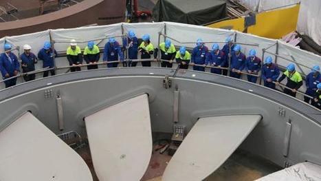 Energies marines. 4,5 millions d'euros pour Cherbourg | Mix énergétique | Scoop.it