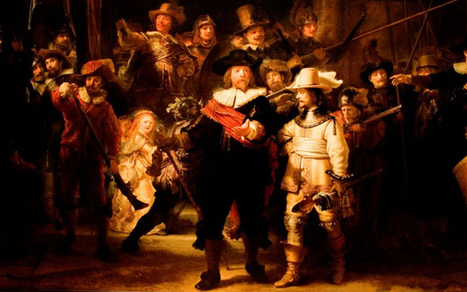 Cultured flashmob recreates Rembrandt's 'The Night Watch' - Telegraph | Flashmob | Scoop.it