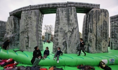 In pictures: Glasgow art festival launched with inflatable Stonehenge - Visual Arts - Scotsman.com | Culture Scotland | Scoop.it