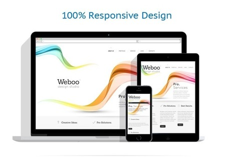 Design Studio Responsive Website Template #46444 | Web Design | Scoop.it