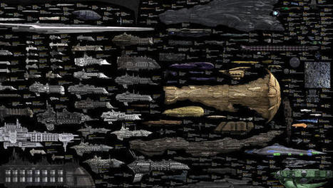 Infographic: The Spaceships From Every Sci-Fi Series Ever | Sci-Fi Talk | Scoop.it