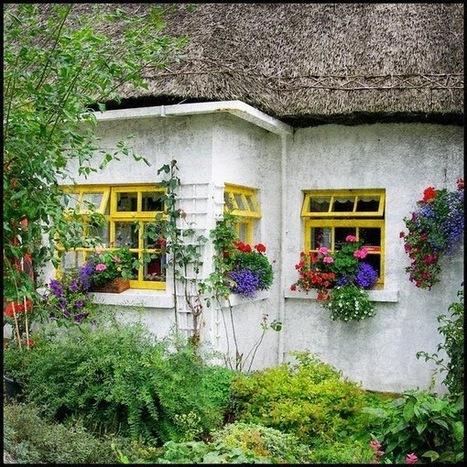 Irish cottages, beautiful cottages | Home Decor Designs | Scoop.it