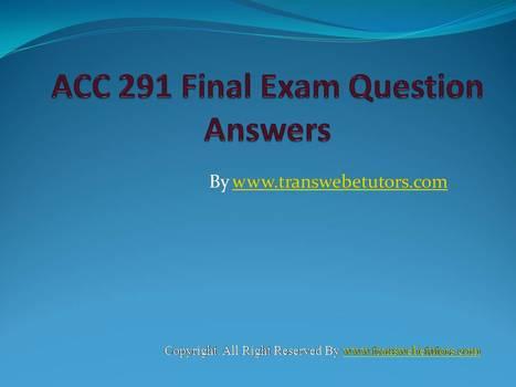ops 571 final exam 2015