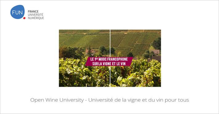 [Today] MOOC Open Wine University - Université de la vigne et du vin pour tous | MOOC Francophone | Scoop.it