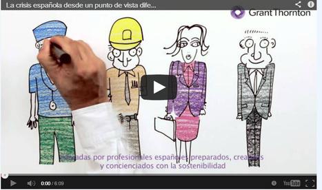 La crisis española desde un punto de vista diferente #infografia (animada) #infographic | Pedalogica: educación y TIC | Scoop.it