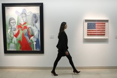 A former assistant to artist Jasper Johns has been charged with stealing 22 works | Art News | Scoop.it