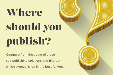 Where Should You Publish? – Compare Self-Publishing Pricing Options | Screwpulp | Scoop.it