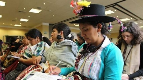"""Global indigenous women leaders make sure their voices are heard """"loud & clear"""" - WNN - Women News Network 