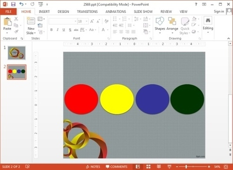 How To Arrange Objects To Front or Back in PowerPoint 2013 | PowerPoint Presentation | PowerPoint Tips & Presentation Design | Scoop.it