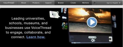 VoiceThread - Group conversations around images, documents, and videos | 101 Cool Things to Try | Scoop.it