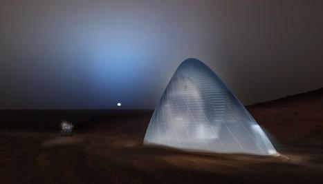 Construire des maisons sur Mars ? Grâce à l'impression 3D, c'est désormais envisageable | FabLab - DIY - 3D printing- Maker | Scoop.it