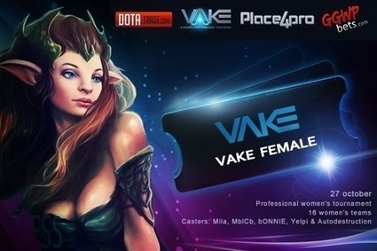 VAKE проводит турнир по #Dota 2 для девушек - http://vk.com/club73621296 | Купить Dragonclaw Hook DOTA 2 | Scoop.it