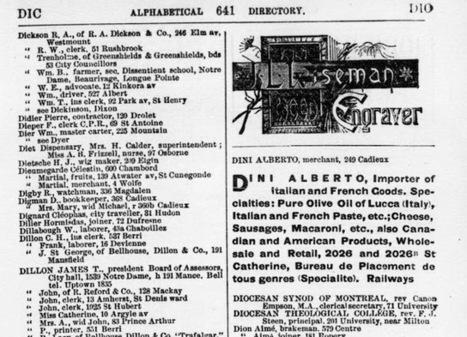Les Toscans et autres Italiens au Canada au XIXe siècle | Rhit Genealogie | Scoop.it
