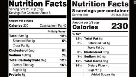 Nutrition labels getting a makeover | Nutrition, Food Safety and Food Preservation | Scoop.it