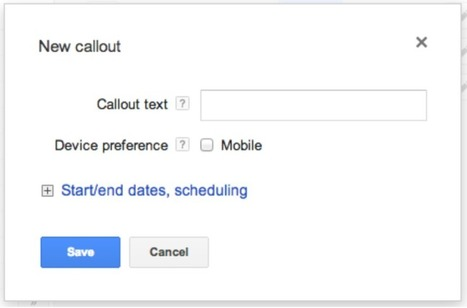 Google AdWords Callout Extensions: Why & How to Use Callouts | WordStream | Online Marketing | Scoop.it