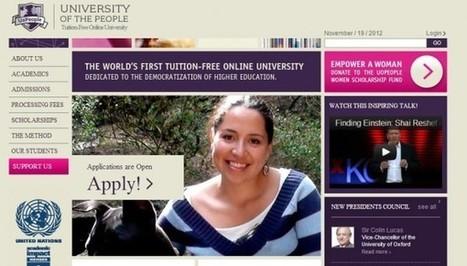 University of People, cursos universitarios online de administración, informática, artes, ciencia, etc..- | Education is for all | Scoop.it