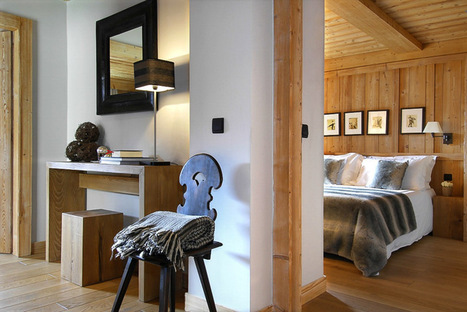 Dream Vacation: French Alps Chalet Emma For A Luxurious Cozy Winter   Collection des voyages   Scoop.it