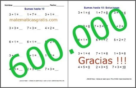 600.000 Fichas de Matemáticas para imprimir descargadas | Matemáticas Primaria | Scoop.it