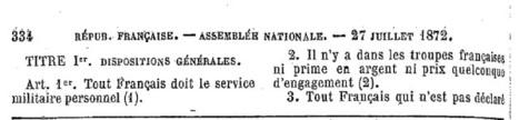 Mémoire des poilus de la Vienne: Le service militaire | GenealoNet | Scoop.it