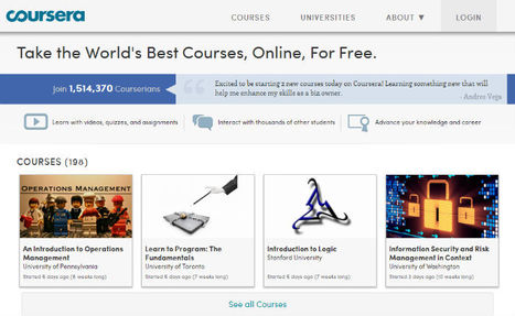 Coursera MOOCs arrive for K-12 instructors | MOOCs | Scoop.it