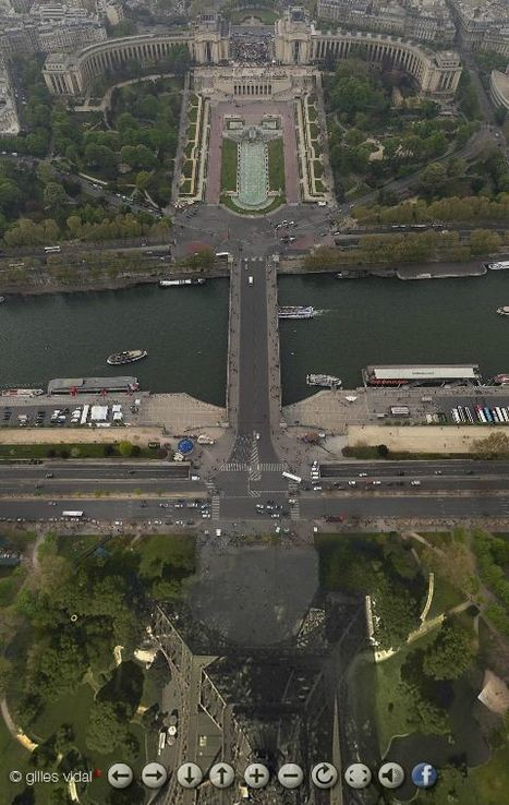 Interactive panoramic view of Paris | Geography Education | Scoop.it