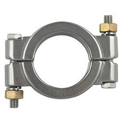 """Dixon High Pressure Bolted Sanitary Clamp, 304 Stainless Steel - 1"""" & 1-1/2""""   Best Standby Generators   Scoop.it"""