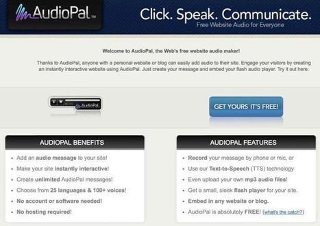 3 outils audio pour la classe – Les Outils Tice | Les outils du Web 2.0 | Scoop.it