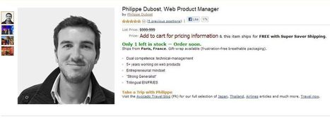 Amazon-inspired online CV of Philippe Dubost goes viral | 00351 SOCIAL MEDIA | Scoop.it