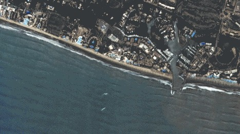 See it from Space: Dueling Jet Skiers Dance in Banderas Bay, Mexico | More Commercial Space News | Scoop.it