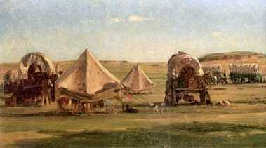 Covered Wagons on the Oregon Trail | westward exansion | Scoop.it