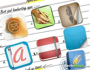 7 Best iPad Handwriting Apps - Tech Shout! | Technology Tools for School | Scoop.it