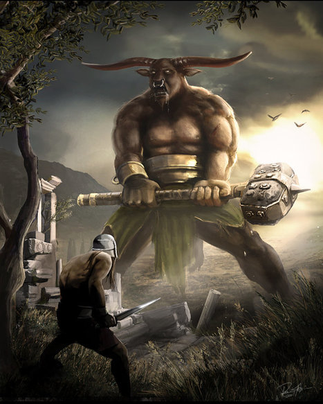 MINOTAUR; MINOTAUROS; Bull-headed man | They were here and might return | Scoop.it