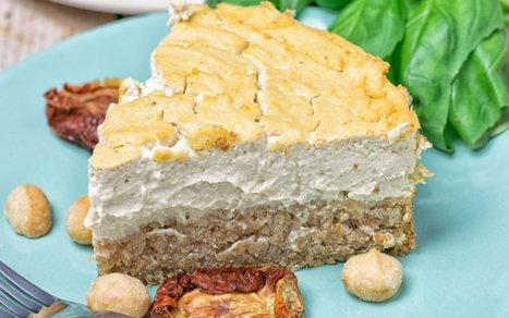 Savory Baked Cheesecake [Vegan] | Vegan Food | Scoop.it