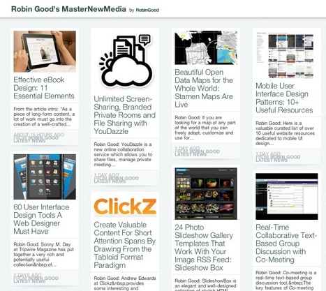 Create Your Custom Pinterest-Like Content Magazine With Feeed | Mobile Websites vs Mobile Apps | Scoop.it