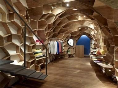 Electric Pixel Design Blog» Blog Archive » Lucien Pellat-Finet Tokyo by Kengo Kuma : Fashion, interior design, Kengo Kuma, Lucien Pellat-Finet, Walls   Arquitectura digital   Scoop.it