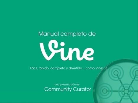 Manual de Vine en español. Tutorial de usos y recomendaciones. | Educacion, ecologia y TIC | Scoop.it