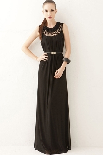 Elegant Tassel And Cutout Detailed Dress - OASAP.com | Online Fashion | Scoop.it