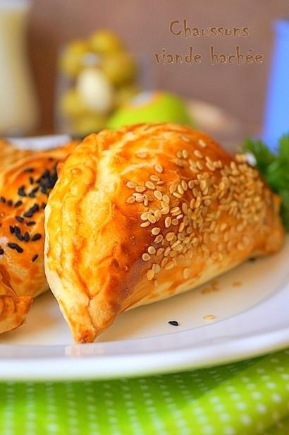 Chaussons à la viande hachée facile | Recettes Pour Ramadan 2016 | Scoop.it