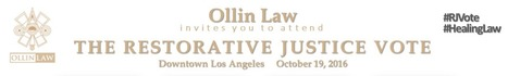 The Restorative Justice Vote // v Ollin Law #RJVote #HealingLaw | Safe Schools & Communities Resources | Scoop.it