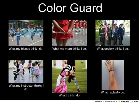 Color Guard | What I really do | Scoop.it