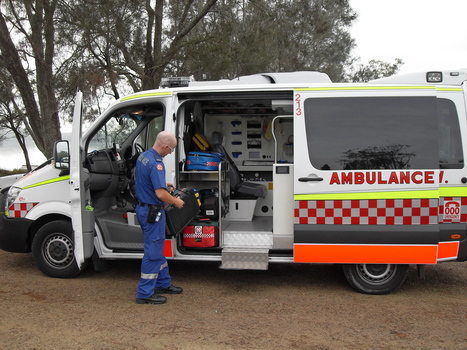 ... a Paramedic | OHS Quest 2 & 3- OHS risks for 5 people and OH&S management for 000 call takers. | Scoop.it