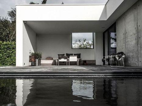Architecture : quand bois et béton se confondent | décoration & déco | Scoop.it