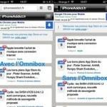 Chrome affiche les pages Internet en plein écran sur iPhone - iPhoneAddict | Applications Iphone, Ipad, Android et avec un zeste de news | Scoop.it