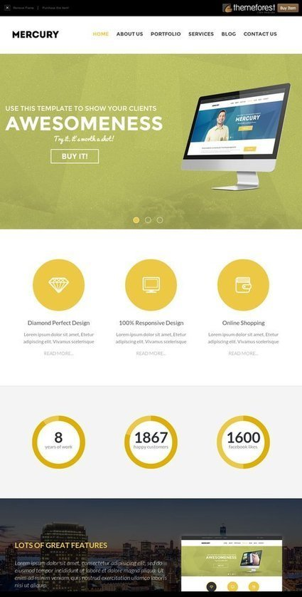 Themeforest - Mercury Theme Review | BAD | WP Tutorials and Tips | Scoop.it
