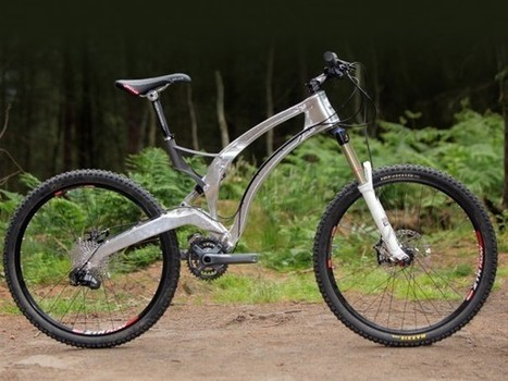 World's first 3D-printed titanium bike is super strong and incredibly light | 3D Printing | Scoop.it