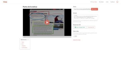Enriquece tus vídeos con Vizia | Recull diari | Scoop.it