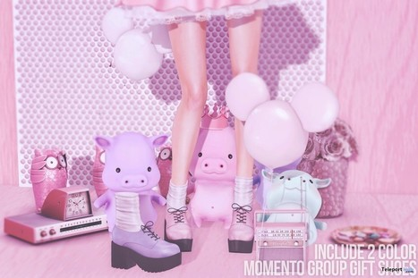 Chunky Heels Group Gift by Momento | Teleport Hub - Second Life Freebies | Second Life Freebies | Scoop.it