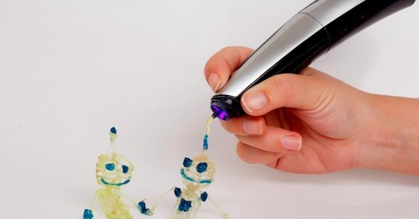 With Creopop, 3D Drawing is Cool, Messy Fun | Opstimisme engagé et innovation | Scoop.it