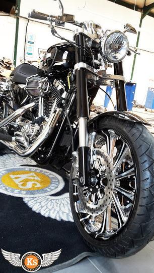 Kustom Store Motorcycles: Atelier KS: Le Sportster de Robert | Kustom Store Motorcycles | Scoop.it