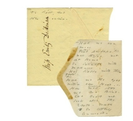 """New Directions to Publish First-Ever Book of Emily Dickinson Manuscript Facsimiles 